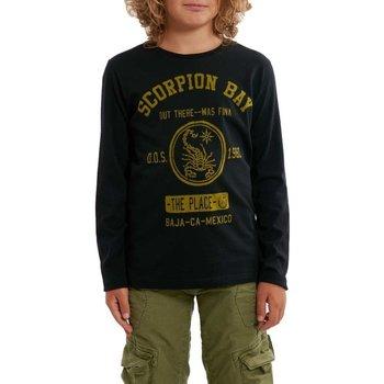 Abbigliamento Unisex bambino T-shirts a maniche lunghe Scorpion Bay T-Shirt Junior Maniche Lunghe Jersey Bianco