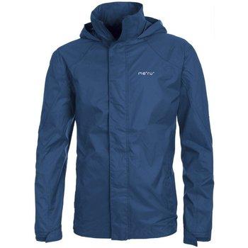 Abbigliamento Uomo Giubbotti Meru Giaca Uomo Rain Blu