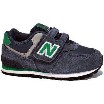 Scarpe Bambino Sneakers basse New Balance Scarpa bambino KG 574 Inf Blu