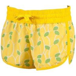 Abbigliamento Donna Shorts / Bermuda Arena Pantaloncino donna Lemons Short Giallo