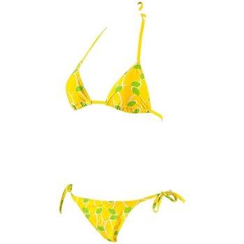 Abbigliamento Donna Costume / Bermuda da spiaggia Arena Costume donna Lemons Triangle Giallo