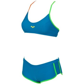 Abbigliamento Donna Costume a due pezzi Arena Bikini donna Sporty Tank Top Azzurro