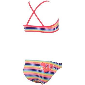 Abbigliamento Bambina Costume / Bermuda da spiaggia Arena Bikini Rainbow Youth Top Fantasia