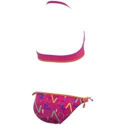 Abbigliamento Unisex bambino Costume / Bermuda da spiaggia Arena Bikini Lettering Youth Neckholder Rosa