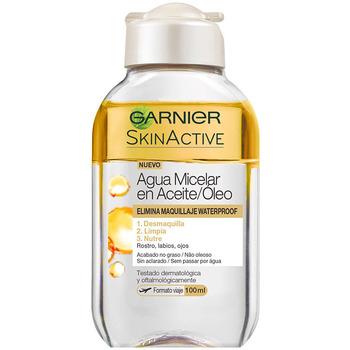 Bellezza Donna Detergenti e struccanti Garnier Skinactive Agua Micelar Aceite Waterproof  100 ml