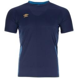 Abbigliamento Uomo T-shirt maniche corte Umbro MAILLOT  POLY Blu