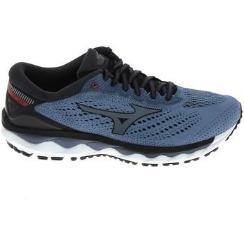 Scarpe Uomo Running / Trail Mizuno Wave Sky 3 Stone Bleu Blu