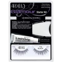 Bellezza Donna Mascara Ciglia-finte Ardell Kit Iniciacion Glamour 101-demi Black Lote 3 Pz 3 u