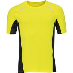 Abbigliamento Uomo T-shirt maniche corte Sols SYDNEY MEN SPORT Amarillo