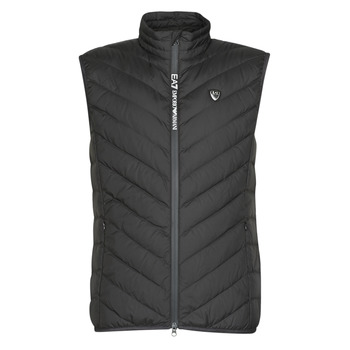 Abbigliamento Uomo Piumini Emporio Armani EA7 TRAIN CORE SHIELD M DOWN LIGHT VEST Nero