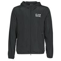Abbigliamento Uomo giacca a vento Emporio Armani EA7 TRAIN CORE ID M JACKET Nero
