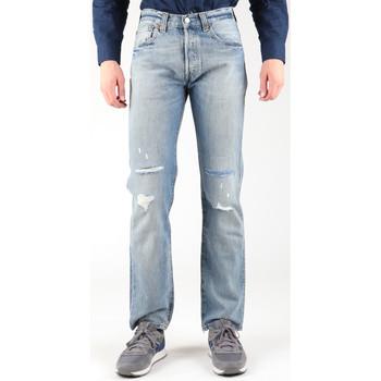 Abbigliamento Uomo Jeans dritti Levi's Levis 501-0605 blue
