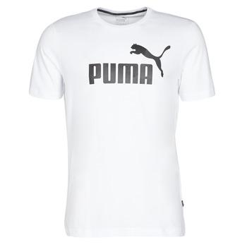 Abbigliamento Uomo T-shirt maniche corte Puma ESSENTIAL TEE Bianco