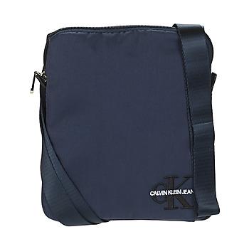 Borse Uomo Pochette / Borselli Calvin Klein Jeans CKJ MONOGRAM NYLON MICRO FP Marine
