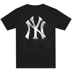 Abbigliamento T-shirt maniche corte '47 T-Shirt M.C. Club New York Yankees Nero