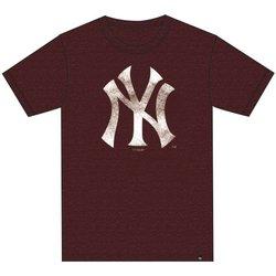 Abbigliamento T-shirt maniche corte '47 T-Shirt M.C. Club New York Yankees Rosso