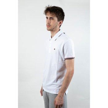 Abbigliamento Uomo Polo maniche corte Champion Polo Uomo Easy Fit Bianco