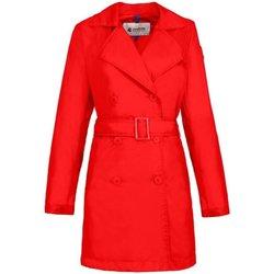 Abbigliamento Donna Trench Invicta Impermeabile Donna Rosso