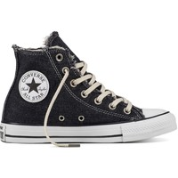 Scarpe Sneakers alte Converse Scarpe CT All Star Alte Denim Nero