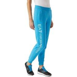 Abbigliamento Donna Pantaloni da tuta Emporio Armani EA7 Pantaloni Donna Jogging Azzurro