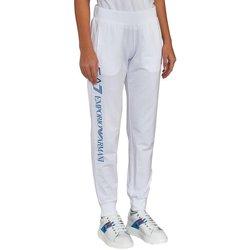 Abbigliamento Donna Pantaloni da tuta Emporio Armani EA7 Pantaloni Donna Jogging Bianco