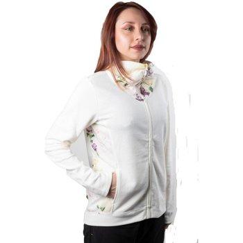 Abbigliamento Donna Felpe Champion Felpa Donna Full Zip Spring Bianco