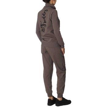 Abbigliamento Donna Tuta Freddy Tuta Donna Full Zip Grigio