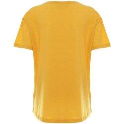 Abbigliamento Donna T-shirt maniche corte Freddy T-Shirt Donna Maniche Corte Stampa Degradé Giallo