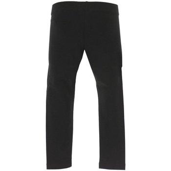 Abbigliamento Unisex bambino Pantaloni morbidi / Pantaloni alla zuava Emporio Armani EA7 Pantaloni Bambino Train Logo Nero