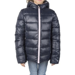 Abbigliamento Bambina Piumini Champion Giacca Bambino Outdoor Tech Fell Cappuccio Blu