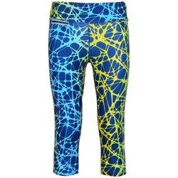 Abbigliamento Donna Leggings Diadora Pantalone Donna L. 3/4 Giallo