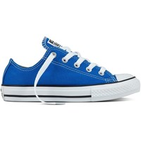 Scarpe Unisex bambino Sneakers basse All Star Scarpe Chuck Taylor Canvas Seasonal Jr Blu