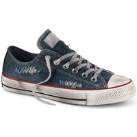 Scarpe Sneakers basse All Star Scarpe Canvas Denim Destroyed Ox Blu