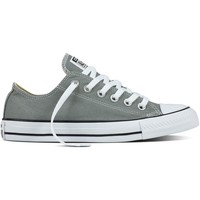 Scarpe Sneakers basse All Star Chuck Taylor Canvas Seasonal Ox Grigio