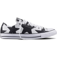 Scarpe Sneakers basse All Star Chuck Taylor Big Star Print Stella Ox Bianco