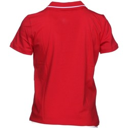 Abbigliamento Unisex bambino Polo maniche corte Emporio Armani EA7 Polo Junior Jersey Rosso