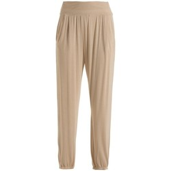 Abbigliamento Donna Pantaloni morbidi / Pantaloni alla zuava Deha Pantalone Morbido Donna Harmonic Beige