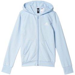 Abbigliamento Bambina Tuta adidas Originals Tuta Ragazza TrackSuit Azzurro