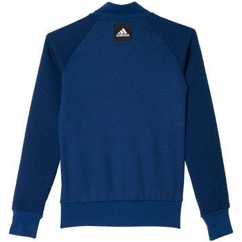 Abbigliamento Unisex bambino Felpe adidas Originals Felpa Junior ID Bomber Blu