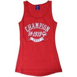 Abbigliamento Donna Top / T-shirt senza maniche Champion Canotta Donna Athl Graphic Rosso