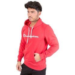 Abbigliamento Uomo Felpe Champion Felpa Cappuccio Rosso