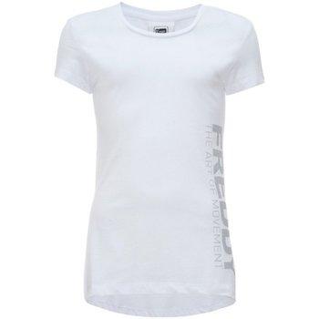 Abbigliamento Unisex bambino T-shirt maniche corte Freddy T-shirt Bambina Con Logo Bianco