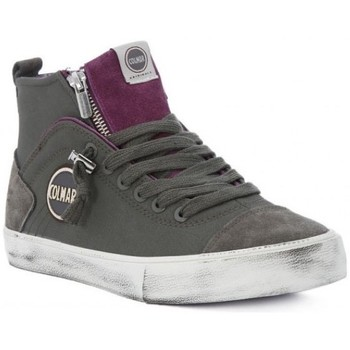 Scarpe Donna Sneakers alte Colmar Sneakers donna Durden Colors Grigio