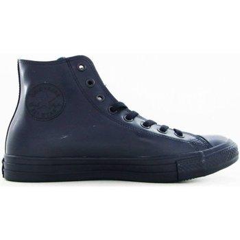 Scarpe Sneakers alte All Star Scarpe Hi Rubber Gomma Blu