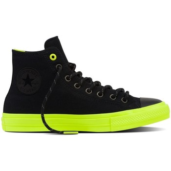 Scarpe Sneakers alte All Star Scarpe Chuck II Shield Canvas Nero
