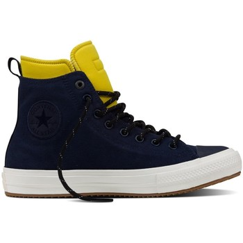 Scarpe Sneakers alte All Star Scarpe Chuck II Boot Canvas Blu