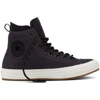 Scarpe Sneakers alte All Star Scarpe Chuck II Boot Canvas Nero
