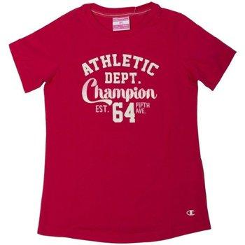 Abbigliamento Unisex bambino T-shirt maniche corte Champion T-Shirt Bambina CrewNeck Rosso