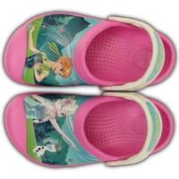 Scarpe Unisex bambino Fitness / Training Crocs Ciabatte Bambina Frozen Fever Clog Rosa