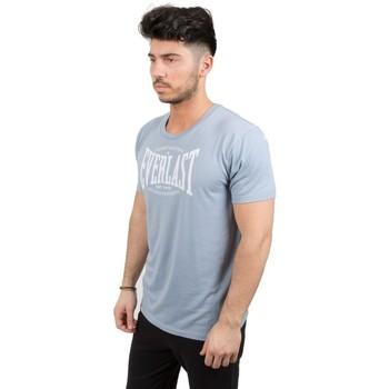 Abbigliamento Uomo T-shirt maniche corte Everlast T-Shirt Uomo Extra Light Azzurro